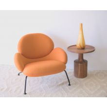 Dixon Lounge Chair In Mandarin