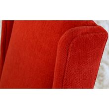 High Back Lounge Chair in Tomato