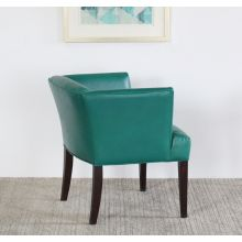 Emerald Leather Lounge Chair