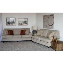 Natural Tweed Sofa