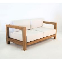 Malibu Teak Outdoor Loveseat