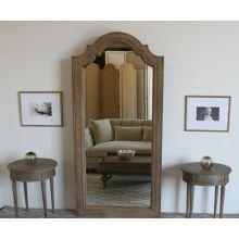 Solid Oak Framed Mirror