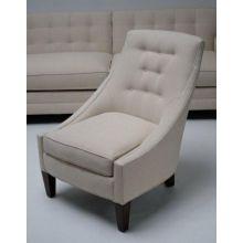 Modern Cream Slipper Chair