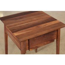 1-Drawer Nightstand in American Black Walnut