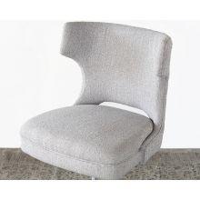 Wingback Desk Chair in Gray