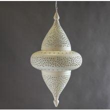 Extra Large Off White Moroccan Lantern