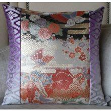 Iridescent Butterflies Pillow