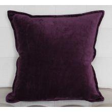 Plum Velvet Pillow