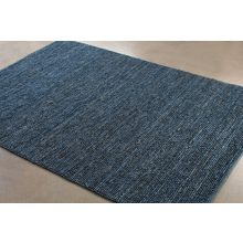 9' x 13' Continental Jute Rug in Blue