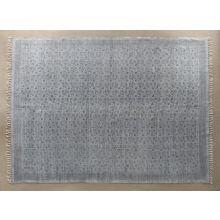 9' x 12' Flatweave Faded Print Rug