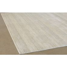 "9' 2"" X 12' 7"" Beige And Sand Layered Wool Rug"