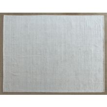 "7' 9"" X 9' 9""  Blended White And Ivory Rug"