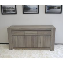 Messina Sideboard in Graywash Finish