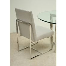 Mitchell Gold Gage Low Dining Chair in Ayers Dove