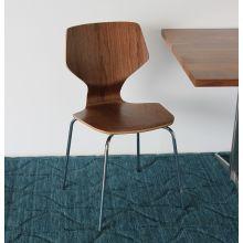 Walnut Wood Side Chair