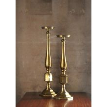 Set of 2 Brass Candlesticks