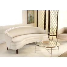 """Mitchell Gold Vera 89"""" Sofa in Splendor Silver"""