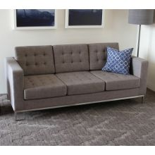 Drake Sofa with Stainless Steel Legs