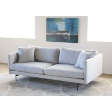 Tux Sofa with Powder Black Legs