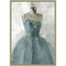 My Blue Dress 22.5W x 31.5H