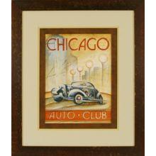 Chicago Auto Club 24W x 28H