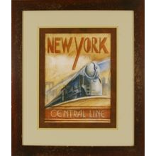 New York Central Line 24W x 28H