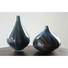 Set of 2 Blue Pucci Vases