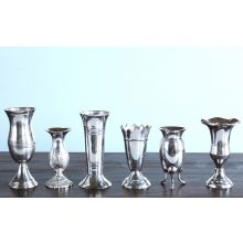 Set of 6 Queen Anne's Vases