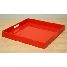 Orange Acrylic Tray